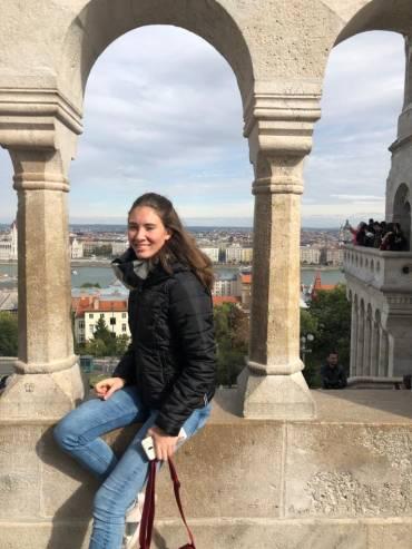 Adriana in Budapest