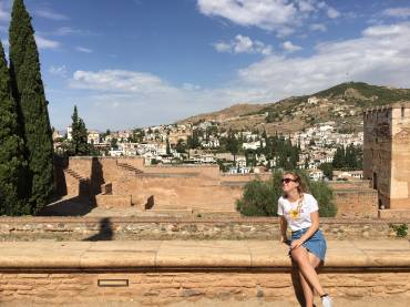 Jessica in Málaga