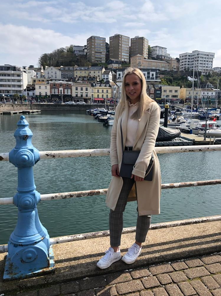 Angelika in Plymouth